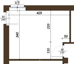 ▷Un armadio con spogliatoio in una camera di 14 mq La CASA ...