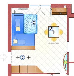 Arredare cucina 20 mq la casa giusta - Arredare cucina soggiorno 20 mq ...