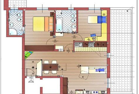 Posizionare la cucina in un ampio soggiorno