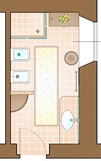 Idee per un bagno classico ed elegante