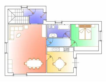 Orientamento casa nord sud la casa giusta - Disposizione stanze casa ...