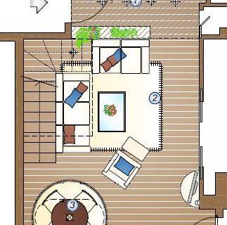 Progettare una scala in soggiorno