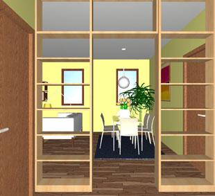 Un soggiorno più ampio