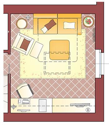 Progettare stanza studio la casa giusta for Progettare una stanza