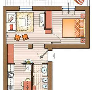 Un mini appartamento