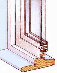 Isolare con il vetro